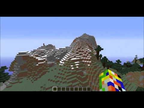 Minecraft 1.7.9 Seed: 12 Biomes Near Spawn!