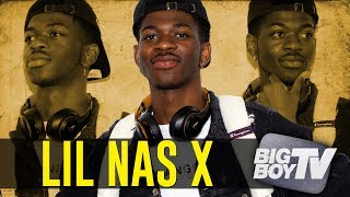 Lil Nas X on The Success of 'Old town Road', Linking w/ Billy Ray Cyrus + What's Next