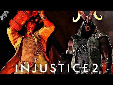 Injustice 2 - Hellboy Epic Gear Gameplay and Breakdown Coming Soon!
