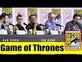 GAME OF THRONES   Comic Con 2019 Full Panel (Maisie Williams, Nikolaj Coster-Waldau, Jacob Anderson)