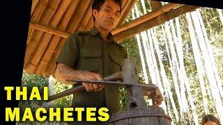 How Blacksmiths make Traditional Thai Machetes