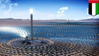 Dubai solar park: Dubai green lights world's largest concentrated solar project - TomoNews