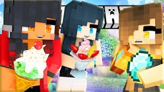 APHMAU'S EVIL ICE CREAM SHOP!  | The Deep End Minecraft Survival | Episode 2