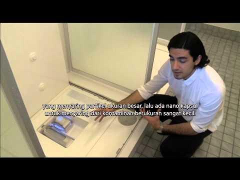 Pria asal Swedia ciptakan kapsul mandi dengan sistem pemurnian yang dapat menghemat air - NET12