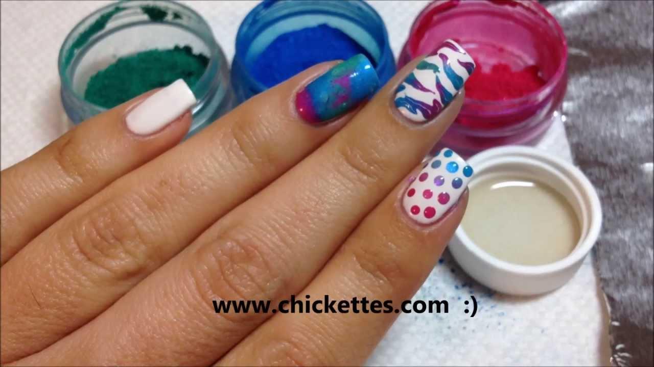 Nail Art Techniques Using Cnd