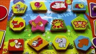Đồ chơi trẻ em❤ BẢNG TỪ THẦN KÌ❤ DẬY CÁC CON VẬT ❤Toys for Kids ❤Bong Bon Kid TV