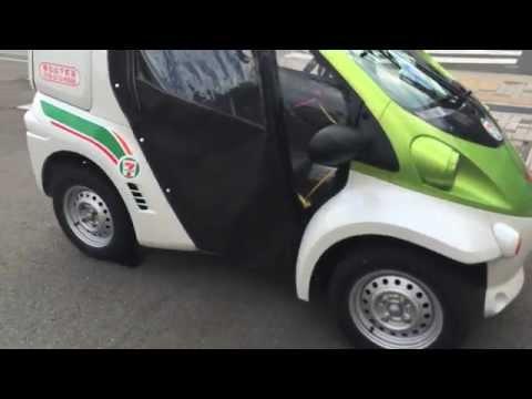 7-11 Electric Car in Japan