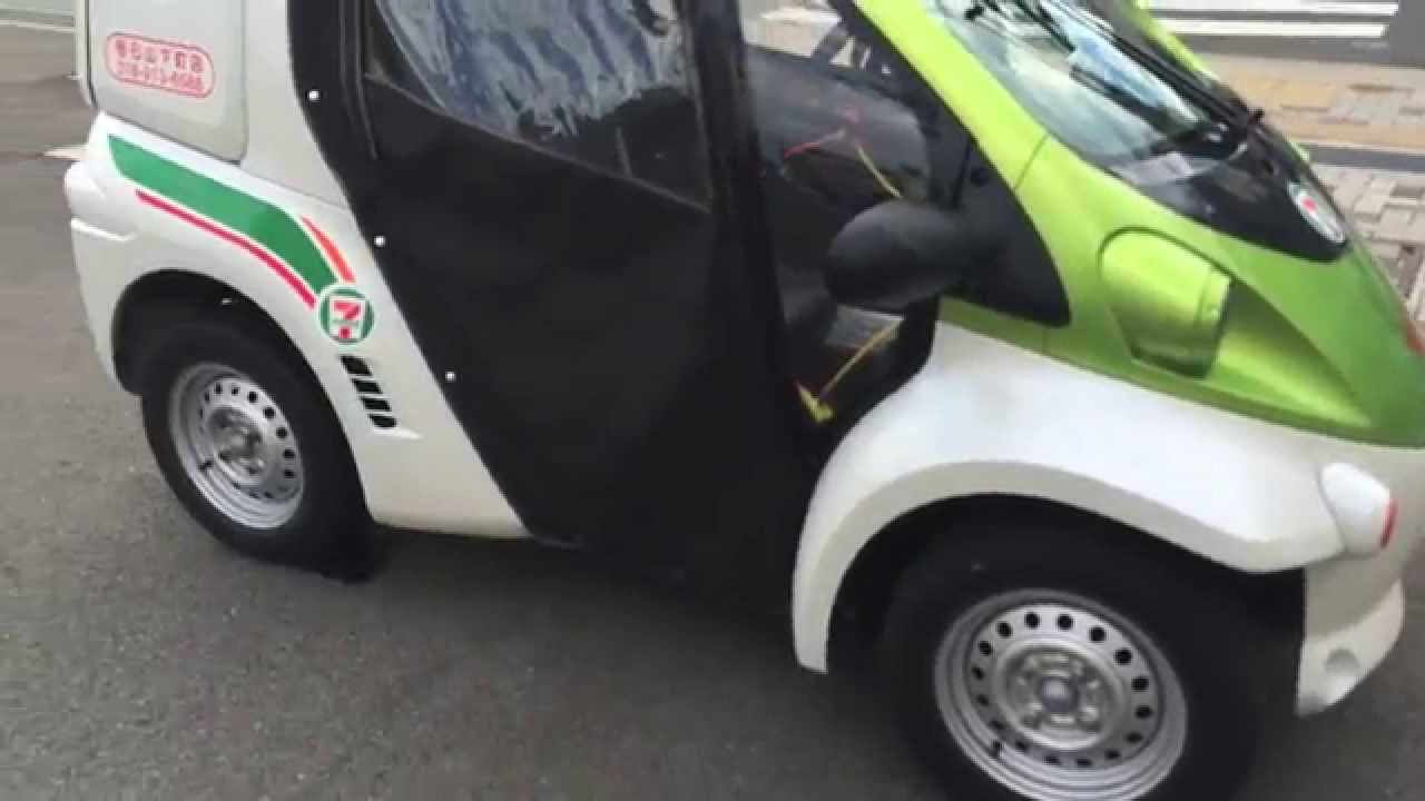 7-11 Electric Car in Japan - YouTube