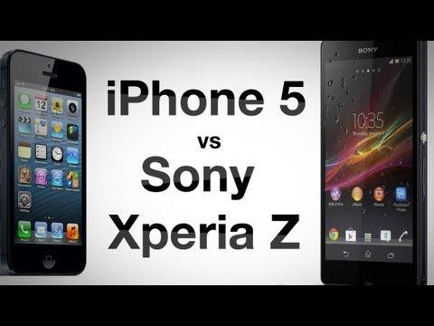 Sony Xperia Z против iPhone 5. Сравнение AppleInsider.ru
