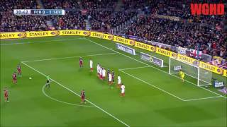 MESSI FREE KICKS | TINCUP LOST | 2016/17