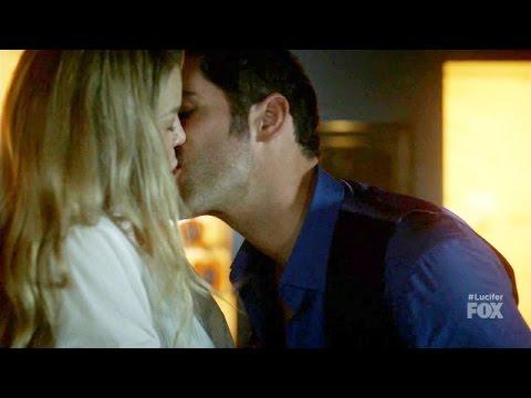 Lucifer 2x12 Opening Scene Lucifer Chloe Make out / Kiss   Season 2 Episode 12 thumbnail