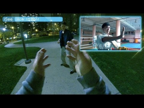 Google Glass taught me how to fight -