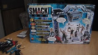 WWF SMACKDOWN REAL SOUND ARENA REVIEW WITH WORKING SOUND EFFECTS!!
