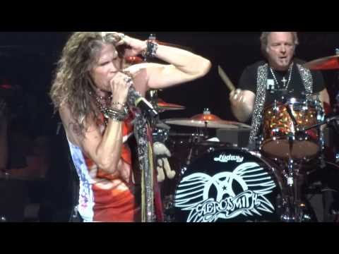 """Train Kept A-Rollin"" Aerosmith@Revel Ovation Hall Atlantic City 11/23/12 Global Warming Tour"
