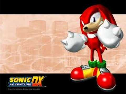 knuckles the echidna wallpapers. Sonic Adventure DX Music: Knuckles the Echidna