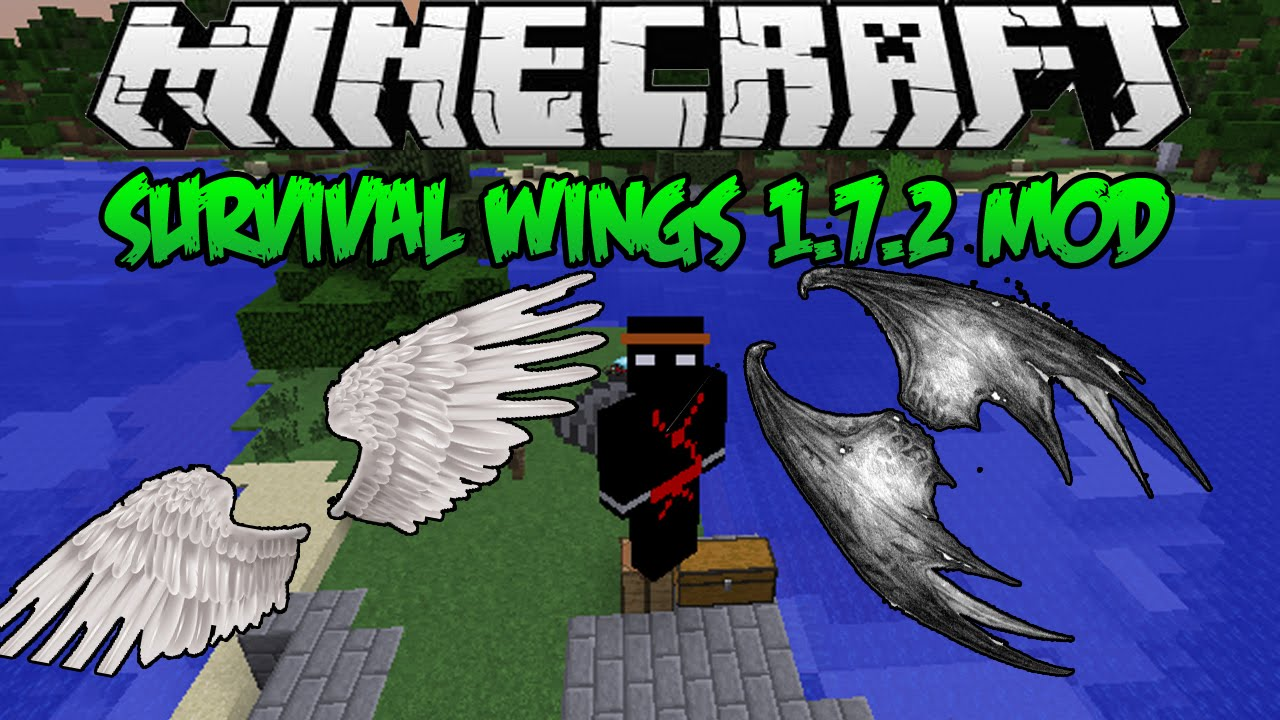 Minecraft Survival Wings Mod