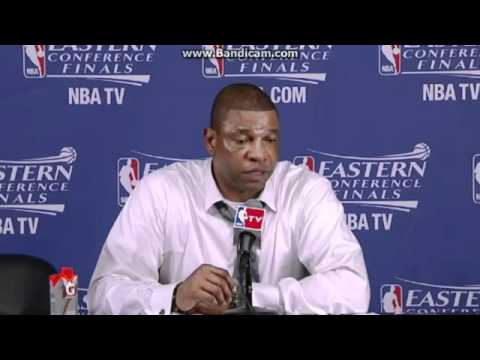 Doc Rivers Post Game Interview after Game 6 Loss