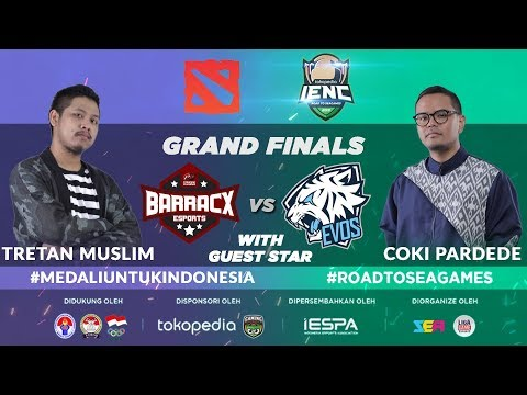 [DOTA2] EVOS ESPORTS vs PG.BARRACX (BO5) - IENC 2019: Road To SEA GAMES Main Event Final Day