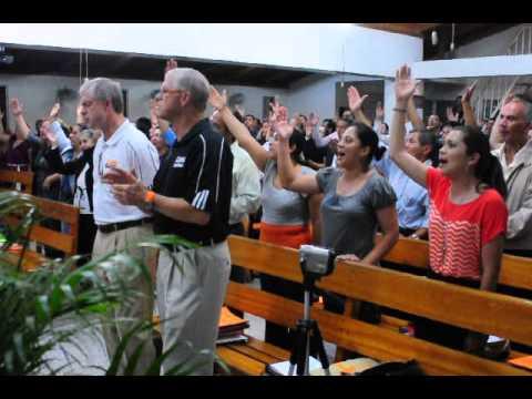 Tegucigalpa, Honduras Mission trip music in church service