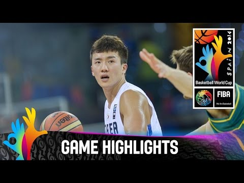 Korea V Australia - Game Highlights - Group D - 2014 Fiba Basketball World Cup video