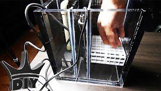 HOW TO: DIY aquarium filter - THE OFFICE TANK BUILD!!