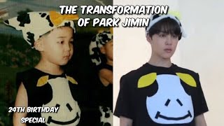 the transformation of park jimin