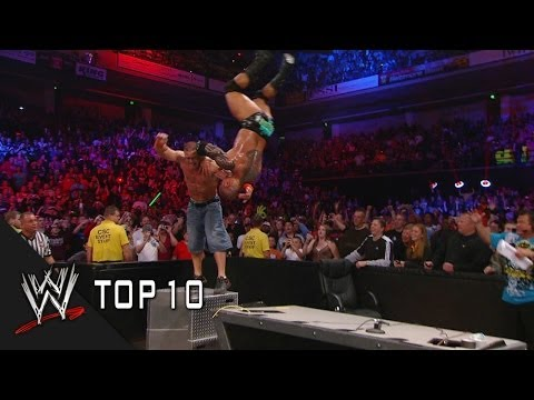 WWE Top 10 looks back at the most incredible moments from Last Man Standing matches. With many moments to choose from did your favorite Last Man Standing mat...
