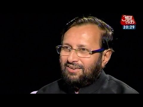 Seedhi Baat - Prakash Javadekar, Minister of State for I&B, Environment