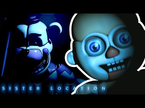 FNAF Sister Location - SCARY BABIES!! || Sister Location Gameplay (Night 1, 2)