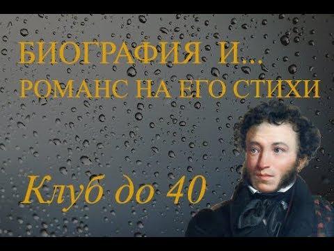 Поэт Александр Пушкин 1799-1837