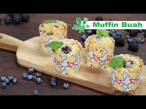 Muffin Buah | Patiseri #055