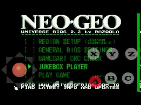 Tiger arcade modo consola (neogeo) y cheats android