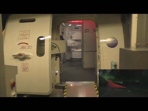 Japan Airlines 787 Dreamliner Flight 414 Helsinki - Tokyo Narita with ATC (northern lights)