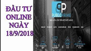 Cập nhật các web HYIP lãi cao ngày 18/9/2018