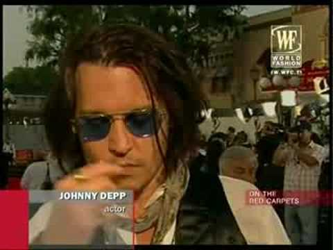 Johnny Depp - World Fashion Channel - BroadbandTV