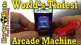 World's Smallest Arcade Machine: Galaxian Unboxed and Reviewed!