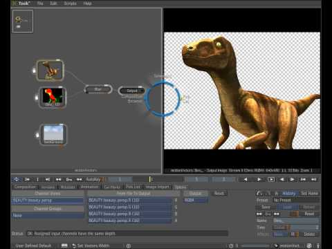 Maya vector pass and composite workflow