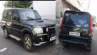 Used Mahindra Scorpio SLX 2.6 model car for sale