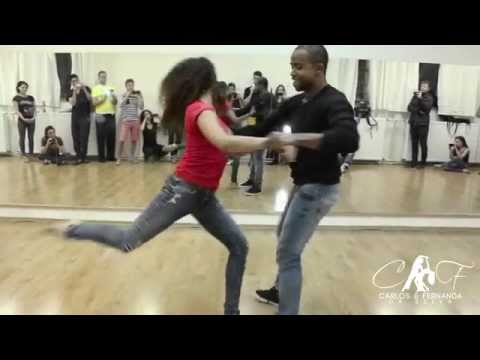 ZOUK FREE STYLE - CARLOS AND FERNANDA, JOHN LEGEND - ALL OF ME