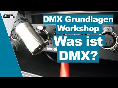 Was ist DMX? - DMX Grundlagen Tutorial für Anfänger   stage.basic