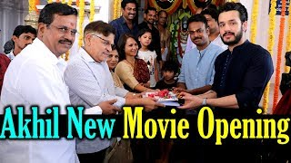 Akkineni Akhil New Movie Launch | Bommarillu Bhaskar