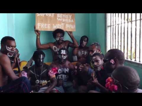 Political Prisoners Support Benny Wenda. Free West Papua video