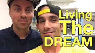 Living the Dream - Interview w Andrew Jive - Professional Stop Motion Animator