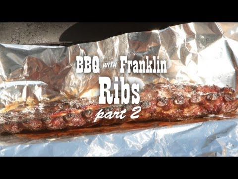BBQ with Franklin: Ribs part 2
