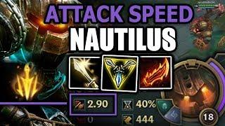 MAX ATTACKSPEED! Nautilus + Lethal Tempo = HILARIOUS   SpicyNoodle264 [Episode 39]