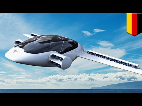 Airbus Vahana Flying Taxi