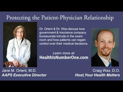 Protecting the Patient-Physician Relationship