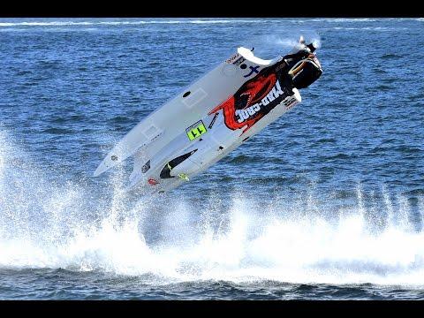 Formula 1 Powerboat Crashes