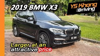 2019 BMW X3 xDrive30i [Walkaround Review] - Gets Larger at an Attractive Price   Part 2
