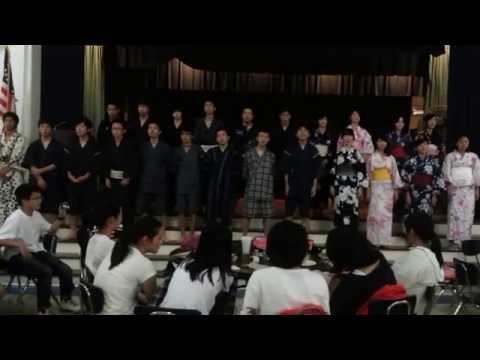 NHK Earthquake Charity Song - Hana Wa Saku (Flowers Will Bloom) Cover By Japanese Exchange Students